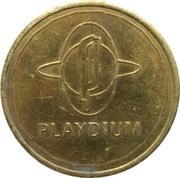 Token - Playdium (Mississauga) – obverse