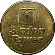 Token - SkyQuest - Skylon tower (Niagara Falls, Ontario) – reverse