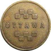 Token - Rideau Arcade (Ottawa, Ontario) – reverse
