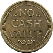 Token - No Cash Value (Swimmer) – reverse