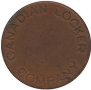 Token - Canadian Locker Company – obverse