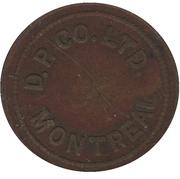 1 Skee-Ball Game - D.P. Co. Ltd. (Montréal, Québec) – obverse