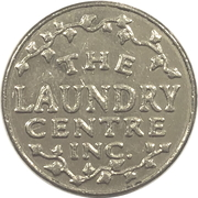 Token - The Laundry Centre Inc. – obverse