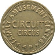 Token - Circuit Circus Family Amusement Center (23 mm) – obverse