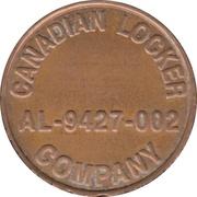 Token - Canadian Locker Company (Scarborough, Ontario) – obverse