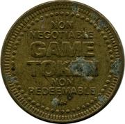 Game Token - Cloverleaf Game Room (Kingston, Ontario) – reverse