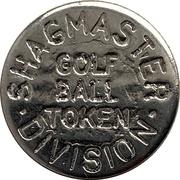 Golf Ball Token - Shag Master Division – obverse