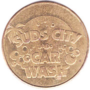1 Dollar Car  Wash Token - Suds City – obverse