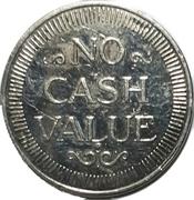 Car Wash Token - Vince's Coinwash (Oshawa, Ontario) – reverse