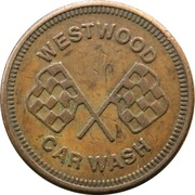 Car Wash Token - Westwood (Coquitlam, British Colombia) – obverse
