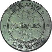 Car Wash Token - Bubbles Car Wash (Sturgeon Falls, Ontario) – obverse