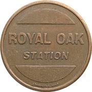 Car Wash Token - Royal Oak Station (Burnaby, British Columbia) – obverse