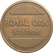 Car Wash Token - Royal Oak Station (Burnaby, British Columbia) – reverse