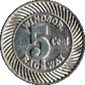 5 Cents - Windsor Raceway – obverse
