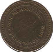 Token - Société des casinos du Québec Inc. – reverse