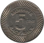 5 Cents - Mohawk Racetrack (Campbellville, Ontario) – obverse