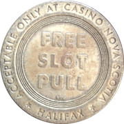 Token - Casino Nova Scotia (Halifax) – reverse