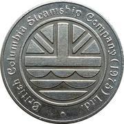 Casino Token - British Columbia Steamship Company – obverse