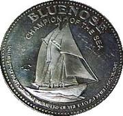MacPuffin Dollar - Cape Breton Island, Nova Scotia -  obverse