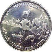 Haweater Dollar - Manitoulin Island, Ontario -  obverse