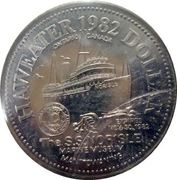 Haweater Dollar - Manitoulin Island, Ontario -  reverse