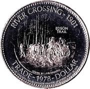 Trade Dollar - Grande Prairie, Alberta – reverse