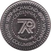 1 Dollar - Richmond, British Columbia -  obverse