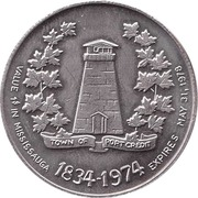 1 Dollar - Mississauga, Ontario – reverse