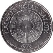 Stampede Dollar - Calgary, Alberta -  obverse