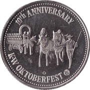 1 Dollar - Kitchener-Waterloo, Ontario (Oktoberfest) – obverse