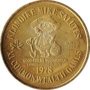 Klondike Dollar - Edmonton, Alberta – reverse