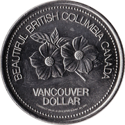 Vancouver Dollar - Vancouver, British Columbia -  obverse