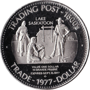 Trade Dollar - Grande Prairie, Alberta -  obverse