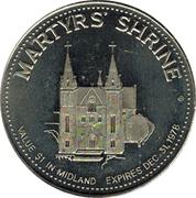 Centennial Dollar - Midland, Ontario – reverse