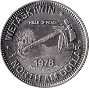 North Am Dollar - Wetaskiwin, Alberta – reverse