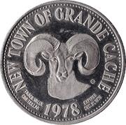 1 Dollar - Grande Cache, Alberta – reverse