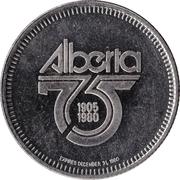 Token - Drayton Valley, Alberta – reverse