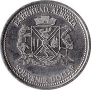 Souvenir Dollar - Barrhead, Alberta – obverse