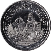 1 Dollar - Crowsnest Pass, Alberta – obverse
