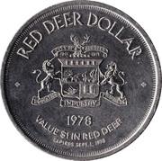 Red Deer Dollar - Red Deer, Alberta – reverse
