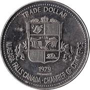 Trade Dollar - Niagara Falls, Ontario -  reverse