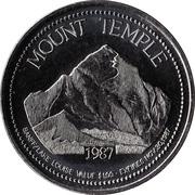 1 Dollar - Banff / Lake Louise, Alberta – reverse