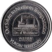 1 Dollar - Whitehorse, Yukon – reverse