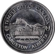 Cardston Trade Dollar - Cardston, Alberta – obverse