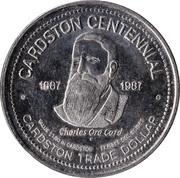 Cardston Trade Dollar - Cardston, Alberta – reverse