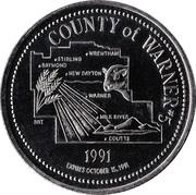 Token - County of Warner, Alberta – reverse