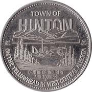 Souvenir Dollar - Hinton, Alberta – obverse