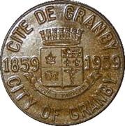 25 Cents - Granby, Quebec -  obverse