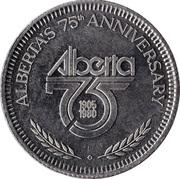Token - McLennan, Alberta – obverse