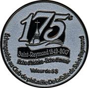 5 Dollars (175th anniversary of Saint-Raymond) – reverse
